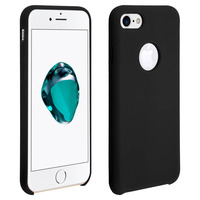 AVIZAR COQUE IPHONE 7/8/SE 2020 PROTECTION SOUPLE SOFT TOUCH ANTI-RAYURES NOIR