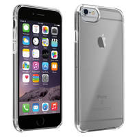 Avizar Coque iPhone 6 Plus, 6S Plus, 7 Plus et 8 Plus Silicone semi-rigide transparent
