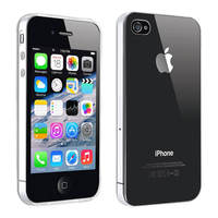 Avizar Coque Apple iPhone 4 / 4S Protection Silicone Résistant Ultra fine transparent
