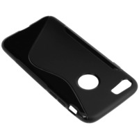 Avizar Coque Silicone Gel S-Line iPhone 7/8 - Noir