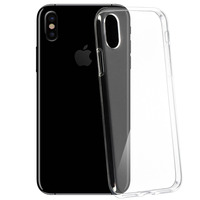 Avizar Coque iPhone X / XS Protection silicone gel transparente ultra-fine