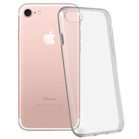 Avizar Coque iPhone 7 / 8 / SE 2020 Protection silicone gel transparente ultra-fine