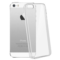 Avizar Coque iPhone SE , 5 et 5s Protection silicone gel ultra-fine transparente