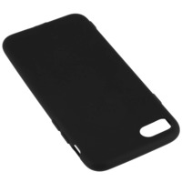 Avizar Coque Silicone TPU Gel Souple iPhone 7 / 8 / SE 2020 - Noir Mat