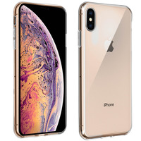 Avizar Coque iPhone XS Max Coque Protection Silicone Souple Ultra-fine - Transparent