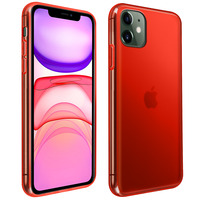 Avizar Coque iPhone 11 Silicone Gel Flexible Résistant Ultra fine rouge