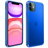 Avizar Coque iPhone 11 Silicone Gel Flexible Résistant Ultra fine bleu
