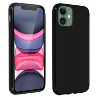 Avizar Coque iPhone 11 Silicone Gel Flexible Résistant Ultra fine noir
