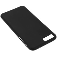 Avizar Coque Silicone Gel iPhone 7 Plus / iPhone 8 Plus Noir mat Incassable