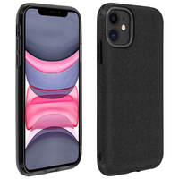 AVIZAR COQUE IPHONE 11 PROTECTION SEMI-RIGIDE DESIGN PAILLETÉE SOUPLE ET FINE NOIR