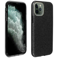 AVIZAR COQUE IPHONE 11 PRO PROTECTION SEMI-RIGIDE DESIGN PAILLETÉE SOUPLE ET FINE NOIR