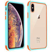 AVIZAR COQUE APPLE IPHONE XS MAX PROTECTION BI-MATIÈRE ANGLES RENFORCÉS - TURQUOISE