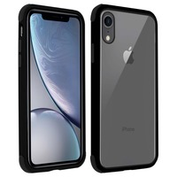 AVIZAR COQUE APPLE IPHONE XR PROTECTION BI-MATIÈRE ANGLES RENFORCÉS NOIR