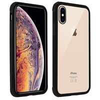 AVIZAR COQUE APPLE IPHONE X / XS PROTECTION BI-MATIÈRE ANGLES RENFORCÉS - NOIR