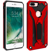 AVIZAR COQUE IPHONE 7 PLUS ET 8 PLUS PROTECTION HYBRIDE SÉRIE PHANTOM ROUGE