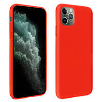 AVIZAR COQUE IPHONE 11 PRO MAX PROTECTION SEMI-RIGIDE ANTICHOC SOFT TOUCH ROUGE