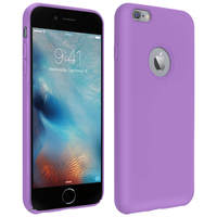 AVIZAR COQUE APPLE IPHONE 6 PLUS ET 6S PLUS SILICONE SEMI-RIGIDE SOFT TOUCH VIOLET