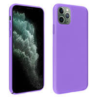 AVIZAR COQUE IPHONE 11 PRO MAX PROTECTION ANTICHOC SEMI-RIGIDE SOFT TOUCH VIOLET