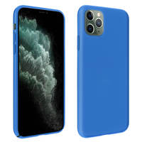 AVIZAR COQUE APPLE IPHONE 11 PRO MAX PROTECTION SEMI-RIGIDE MAT BLEU NUIT