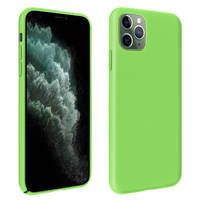 AVIZAR COQUE APPLE IPHONE 11 PRO MAX PROTECTION MAT AVEC FINITION SOFT TOUCH VERT