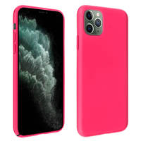 AVIZAR COQUE DE PROTECTION IPHONE 11 PRO MAX SEMI-RIGIDE MAT SOFT TOUCH FUSCHIA