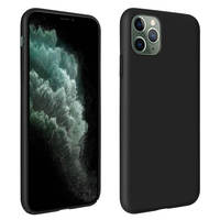 Avizar Coque Apple iPhone 11 Pro Max Semi-rigide Antichoc Anti-rayure Soft Touch noir