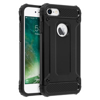 Avizar Coque Protection Antichoc iPhone 7/8 - Antichutes (1,80m) - Noir