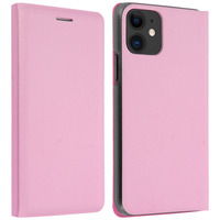 Avizar Housse Apple iPhone 11 Étui Folio à Clapet Porte-carte - rose