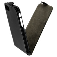 Avizar Etui Etui Portefeuille à Clapet Vertical iPhone 7 et iPhone 8 - Noir