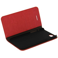 Avizar Etui Etui Clapet Portefeuille Cuir Rouge iPhone 7 et iPhone 8