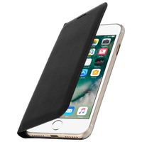 Avizar Housse iPhone 7 / 8 Etui Portefeuille Clapet Flip Cover Ultra-fin Noir