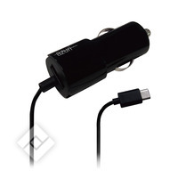 USB-lader of autolader voor smartphone / tablet  CARCHARGER USB TYPE C
