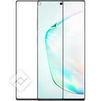 AZURI CURVED TEMPERED GLASS BLACK NOTE 10