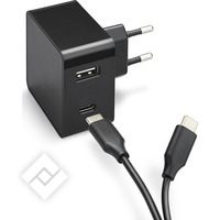 AZURI HOME CHARGER 3A BLACK