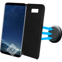 AZURI MAGNETIC BACKCOVER + AIR VENT HOLDER SAMSUNG S8