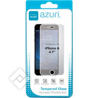 AZURI TEMPERED GLASS IPHONE 6/6S, Smartphone