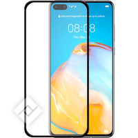 AZURI TEMPERED GLASS FLAT BLACK HUAWEI P40