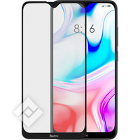AZURI TEMPERED GLASS RINOX ARMOR BLACK FRAME XIAOMI REDMI 8