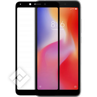AZURI TEMPERD GLASS BLACK REDMI 6A