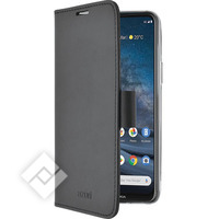 AZURI Walletcase magnetic closure & cardslots - Black - Nokia 8.3