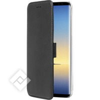 AZURI WALLETCASE - MAGNETIC CLOSURE & 3 CARDSLOTS - NOTE 8 BLACK