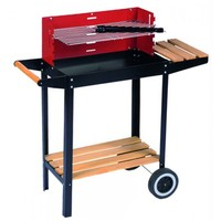BBQ collection barbecue mobile en acier
