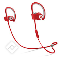 BEATS POWERBEATS WIRELESS RED, Casque / Écouteurs sans fil