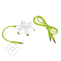 Audiokabel / fiche MULTIJACK 3.5MM SPLITTER
