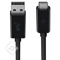 BELKIN USB C CABLE 0.9M BLACK