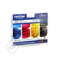 BROTHER LC1100VALBP BLACK+COLOR