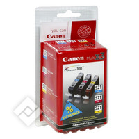 CANON CLI-521 C/Y/M PACK