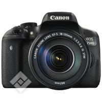 CANON EOS 750D + 18-135 IS STM + TAS + 16GB
