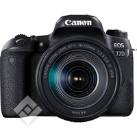 CANON EOS 77D + EF-S 18-135 IS USM + TAS + 8GB
