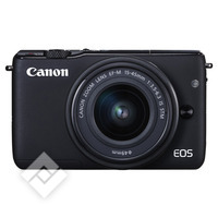 CANON EOS M10 + EF-M 15-45MM IS STM + DEMI ETUI + SD 8GO